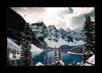 The Other Moraine Lake (Bordered)