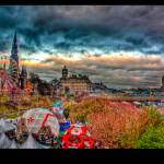 """Princes Street, Edinburgh, HDR"" by KVR"