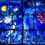 """Marc Chagall. American window 2 (big)"" by marina_karsten"