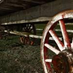 """Antique Wagon Wheels"" by ScottHovind"