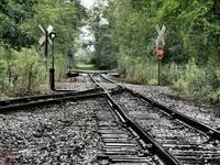 Antique Railroad Track