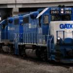 """GATX Freight Train"" by ScottHovind"