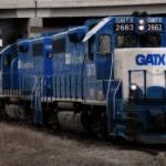 """GATX Freight Train"" by ScottHovind"