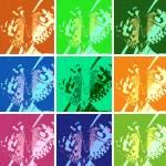 """Pop Art Mosaic"" by carolmunrophotoart"