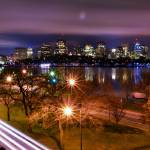 """Night View of Boston Skyline from MIT"" by BostonSkyline"