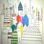 """""""Towers"""" by WhiteDeer"""
