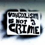 """graffiti vandalism is not a crime"" by 808Images"