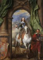 Charles I with M. de St. Antoine, 1633