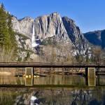 """""""Swinging Bridge, Yosemite"""" by markeloperphotography"""