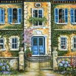 """My French Villa"" by marilyndunlap"