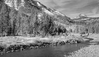 Shoshone River near Yellowstone National Park