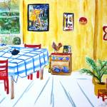 """Van Goghs Kitchen"" by lorisart"