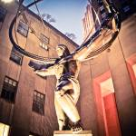 """Atlas Statue (New York City)"" by googoo"