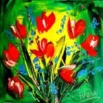 """tulips"" by milagallery"