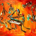 """JAZZ"" by milagallery"