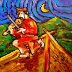 """FIDDLER ON THE ROOF"" by milagallery"
