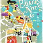 """Buenos Aires map"" by Migy"