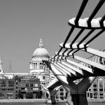"""Millenium bridge - London"" by Ambika"