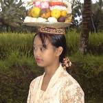 """Bali - Young Woman with Offerings"" by Fotofrieze"