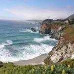 """Pacific coastline"" by Ambika"