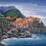 """""""Manarola Cinque Terre Italy"""" by marilyndunlap"""