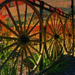 """Wheels Of The Old West"" by artsandi"