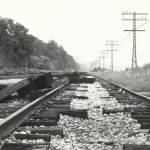 """B&W - Amtrak Railroad Tracks along the Hudson - St"" by Fotofrieze"