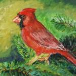 """Summer Cardinal"" by nadinerippelmeyer"