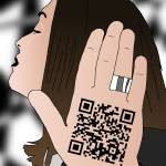 """Talk to the hand cause the QR code understand"" by Casino"