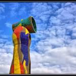 """Joan Miró en Homenaje a Gaudi"" by DanielCabanas"