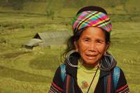 Black Hmong Tribe woman