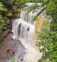 Canyoning in the Brecon Beacons