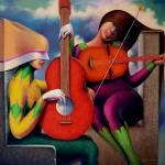 """Guitarrista"" by delabarra"