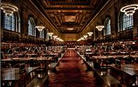 Main Reading Room of NYC Public Library