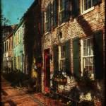 """Georgetown Rowhomes 2"" by robbdee40"