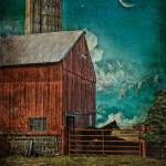 """Moon Over Horse Barn-1st Pl Winner/Salem Co Fair"" by SOHuey"