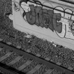 """Tracks and Graffiti"" by jnanian"