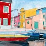 """""""Burano Italy"""" by mozache"""