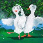 """Pas de Ducks Ballet"" by mozache"