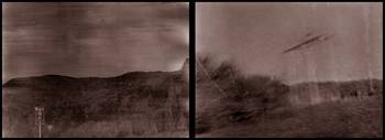 new hampshire ufo sighting diptych brown tone