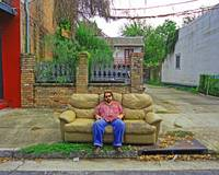 Outdoor Sofa, New Orleans
