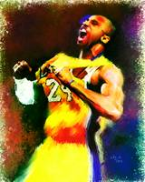 Kobe Bryant, Los Angeles Lakers, NBA # 24