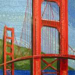 """Golden Gate Bridge Tribal"" by PatrickBornemann"