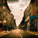 """Morning on the Lower East Side of Manhattan"" by dennisherzog"