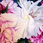 """Wilting Peonies"" by KellyEddington"