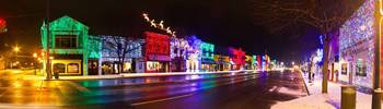 Rochester, Michigan Christmas Light Display