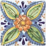 """""""Vintage Floral Tile"""" by DelightfulTrifles"""