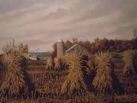 Amish Farm IN Autumn
