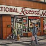 """National Record Mart"" by Guentart"