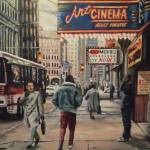 """The Art Cinema In The 80s"" by Guentart"